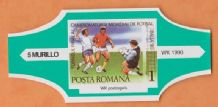 1990 World Cup Cigar Band (Green)